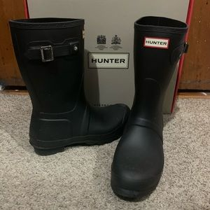 Hunter boots (black)